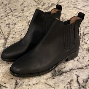 Madewell The Ainsley Chelsea Boot J8295 leather
